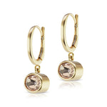 The Morganite Janet Bell Earrings
