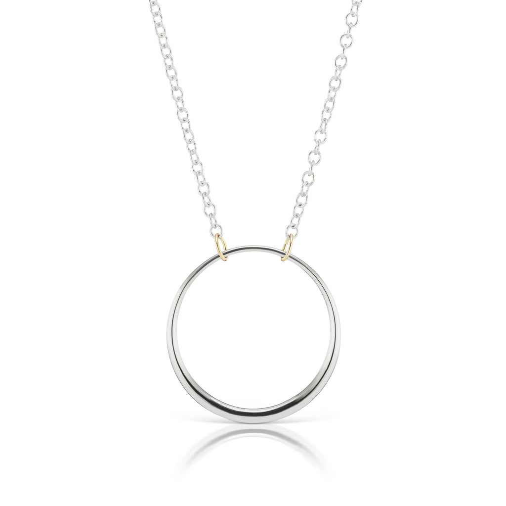 The Silver Loop Necklace