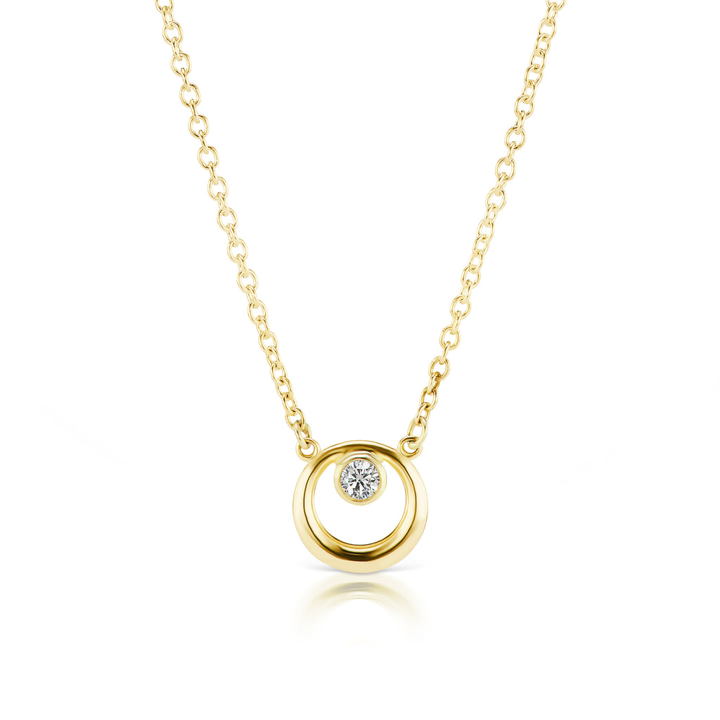 The Gold Everyday Diamond Necklace