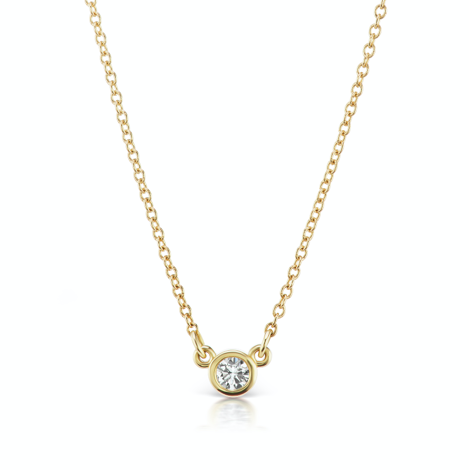 The Gold Diamond Confetti Necklace
