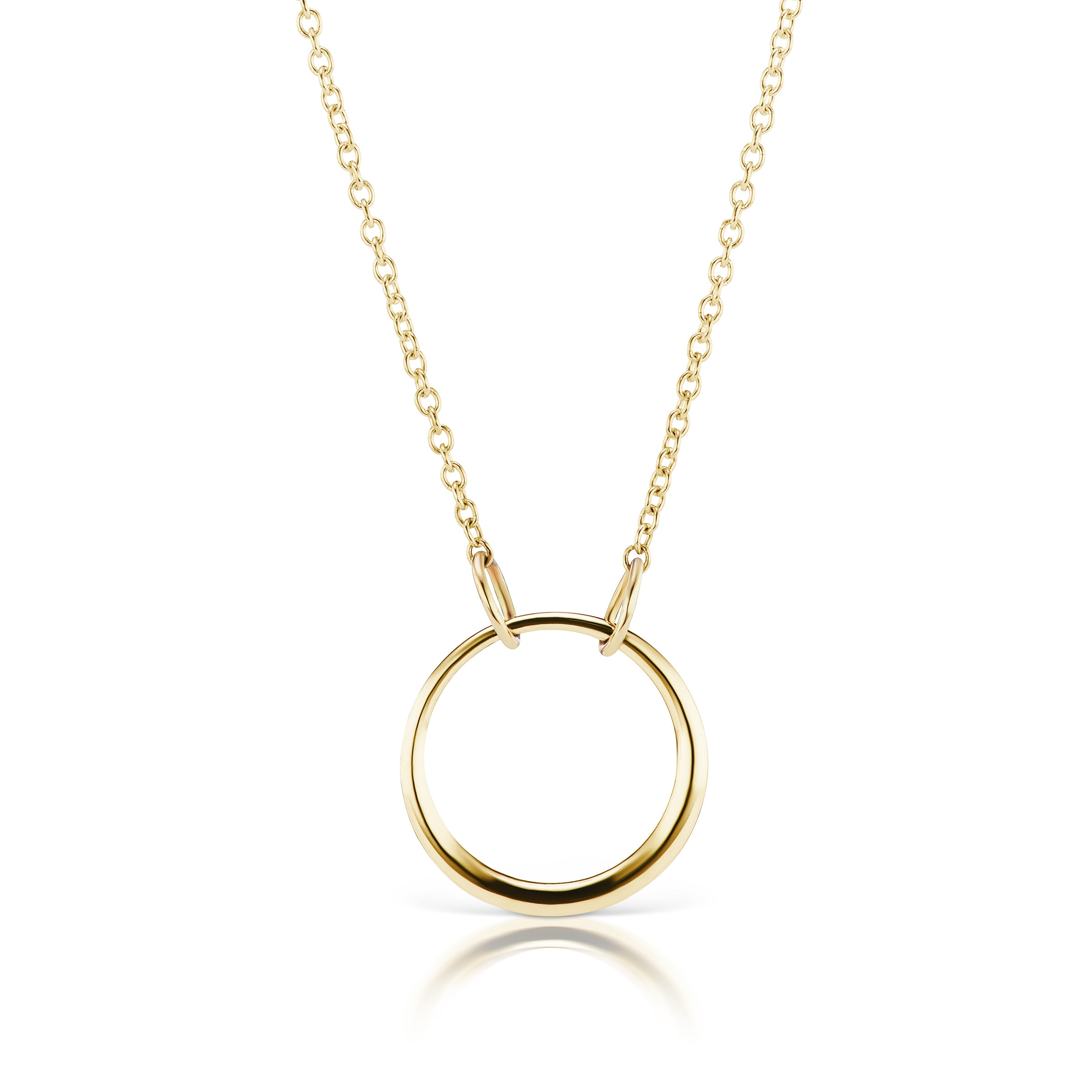 The Gold Petite Loop Necklace