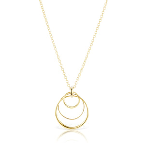 The Gold Party Loop Necklace