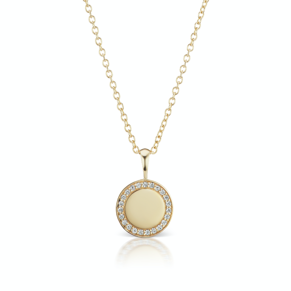 The Gold Diamond Signature Necklace