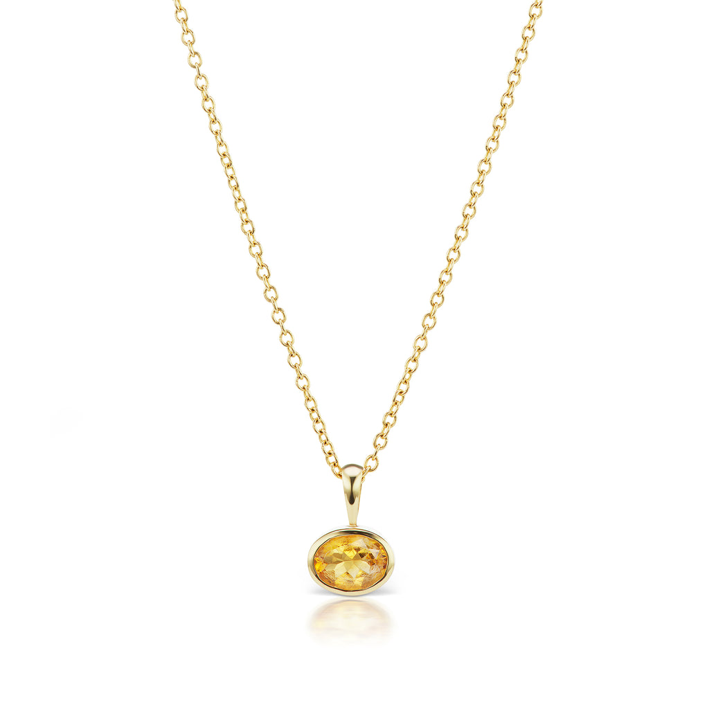 The Citrine Amber Necklace
