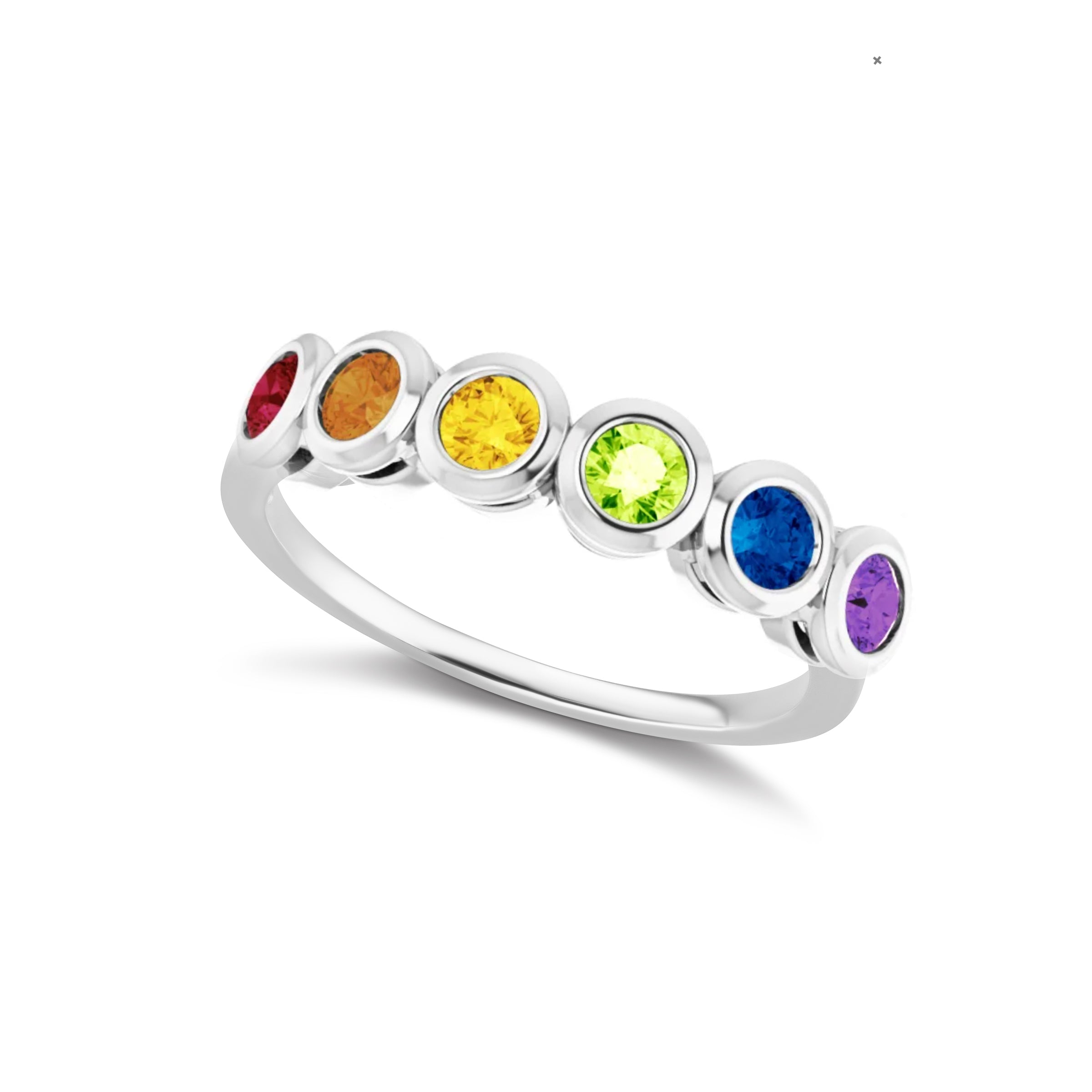 The Silver Rainbow Ring