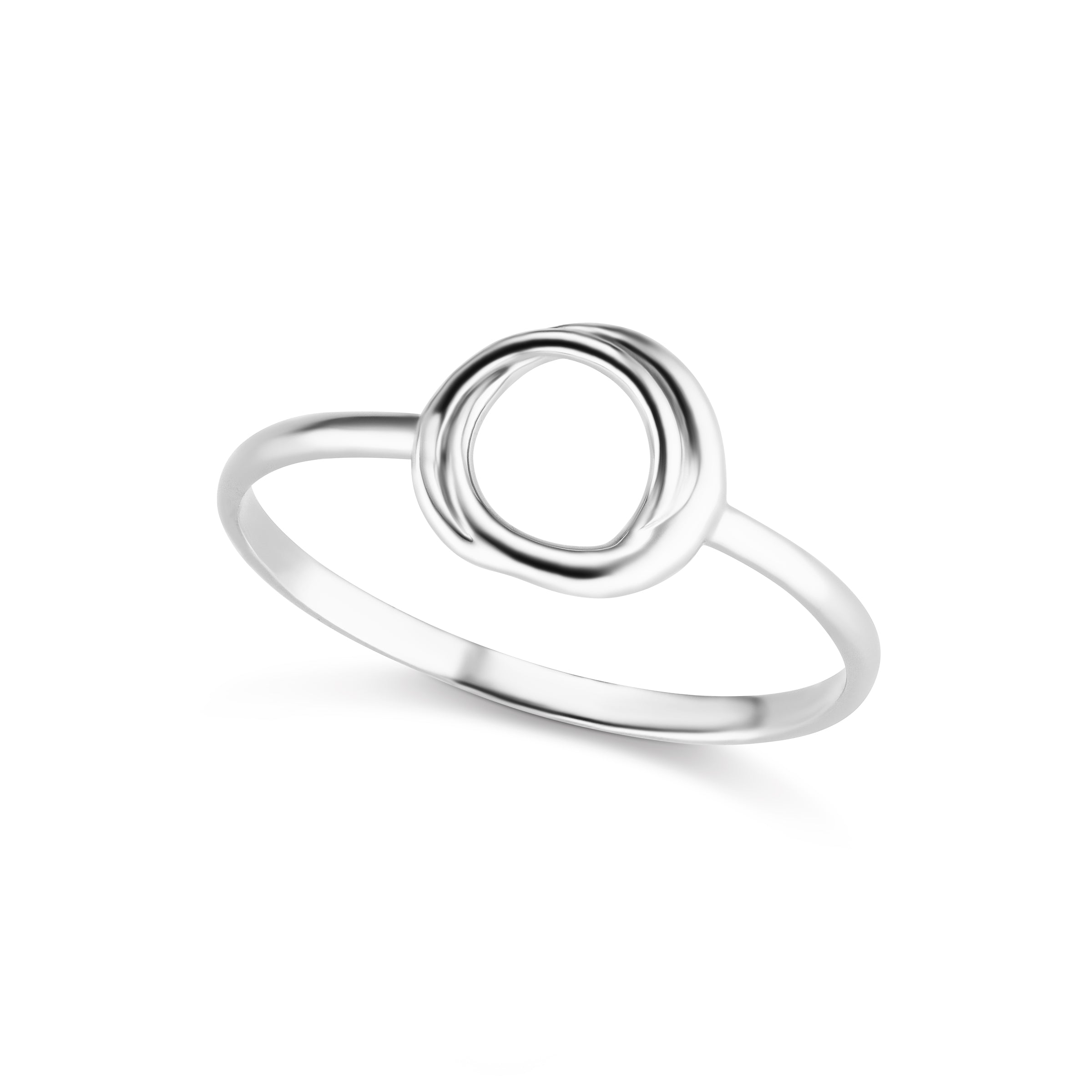 The Silver Encircle Ring