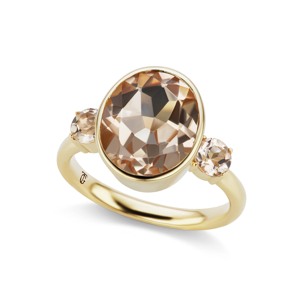 The Morganite Lindsay Ring