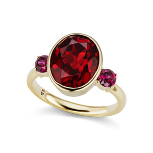 The Garnet Lindsay Ring