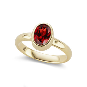 The Garnet Marsha Ring