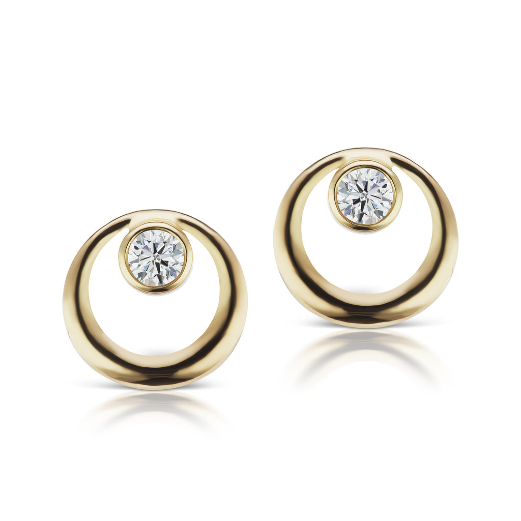 The Gold Everyday Diamond Earring