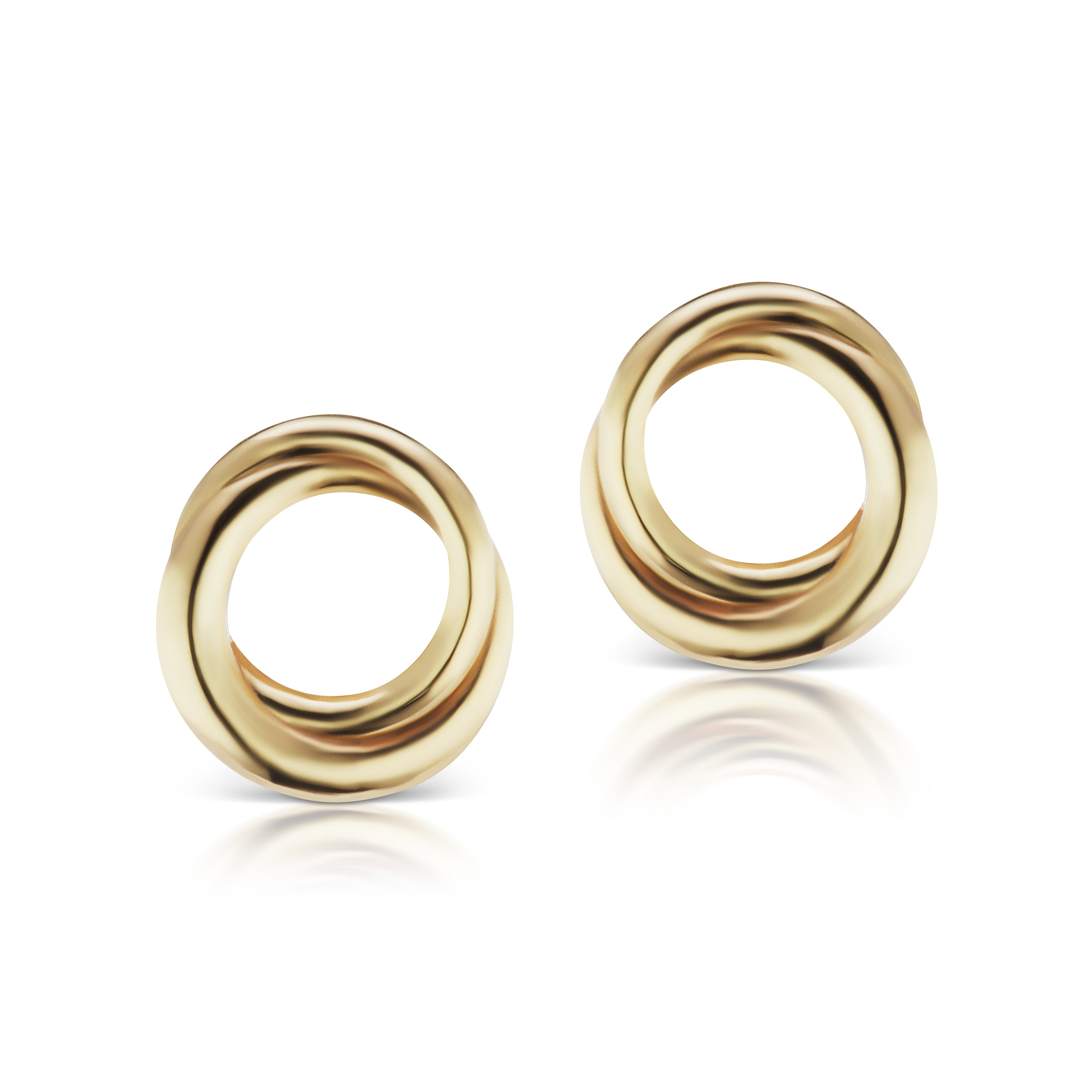 The Gold Encircle Studs
