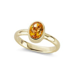The Citrine Marsha Ring