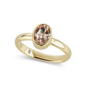 The Morganite Marsha Ring