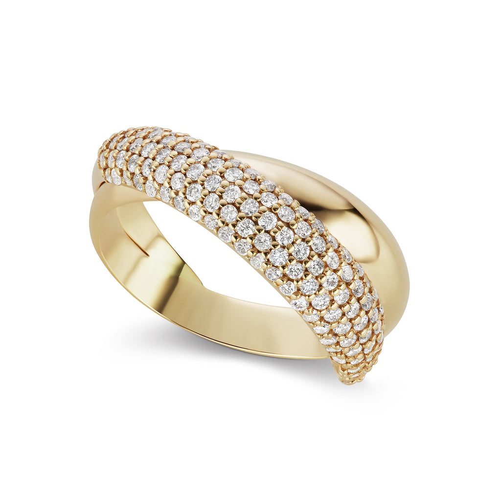 The Gold Icon Diamond Ring