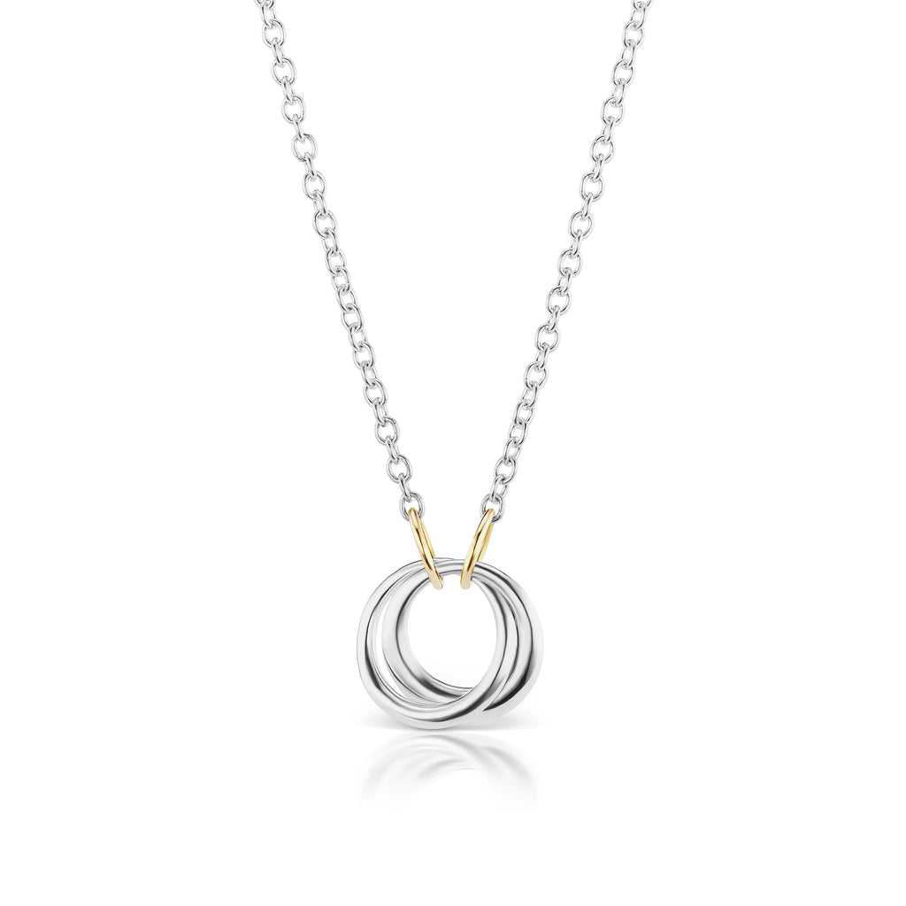 The Silver Encircle Necklace