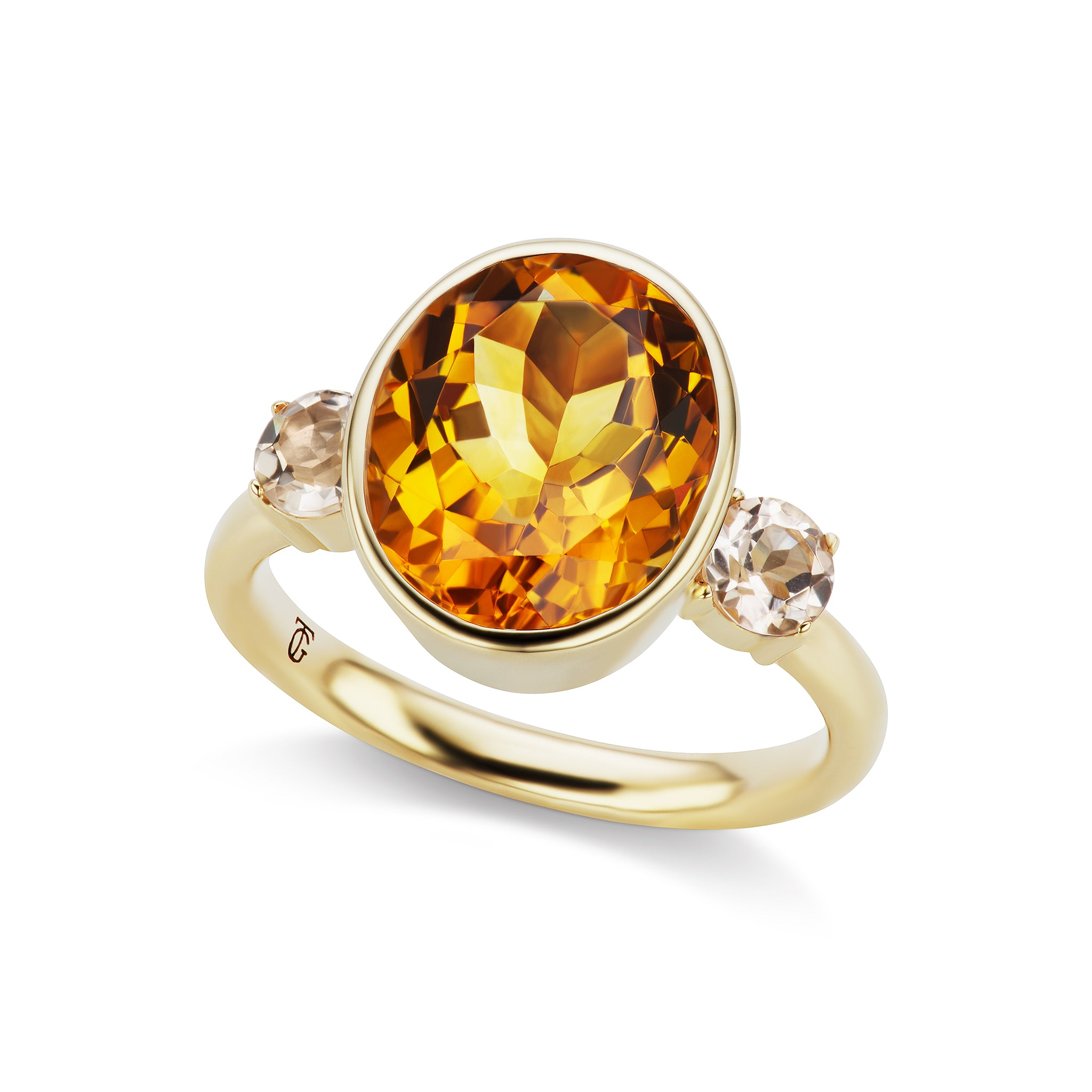 The Citrine Lindsay Ring