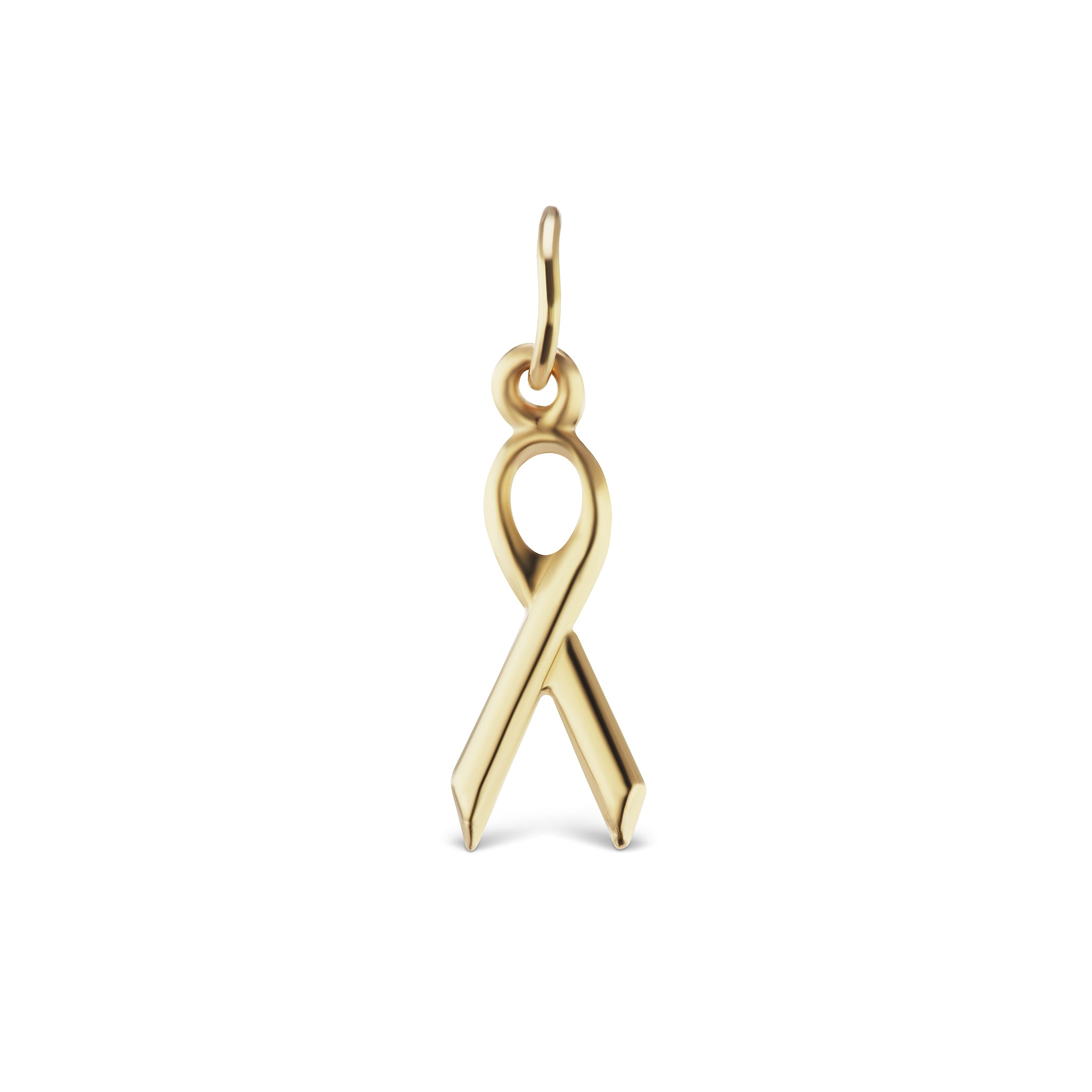 The Gold Ribbon Charm