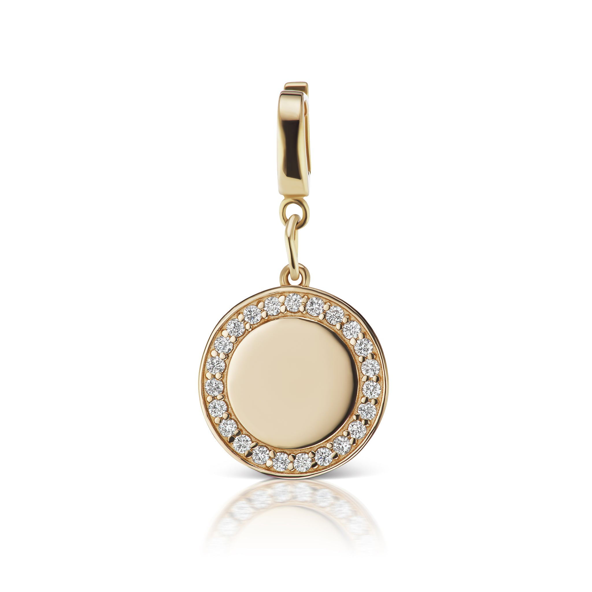 The Gold Diamond Signature Charm