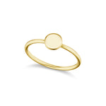 The Gold Petite Signature Ring