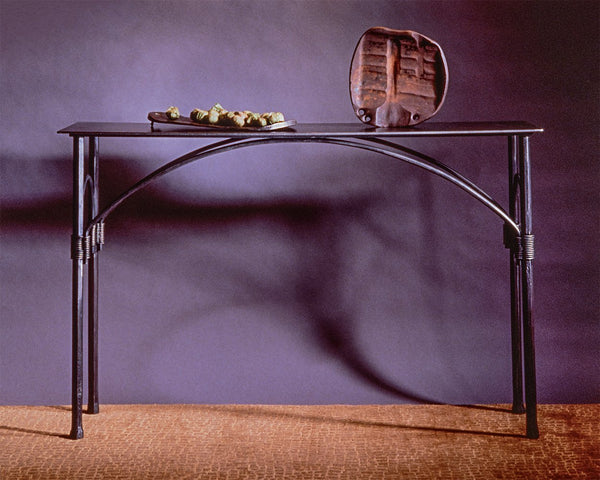 Arched Console Table - Christopher Thomson Ironworks