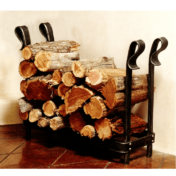 Log Holder/Table - Christopher Thomson Ironworks