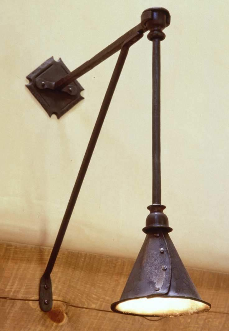 Pendant With Bracket Fixture - Christopher Thomson Ironworks