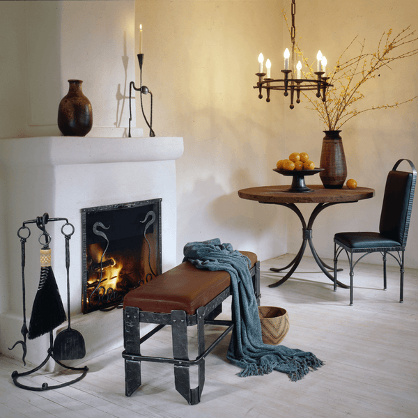 Three Tool Fireplace Set - Christopher Thomson Ironworks