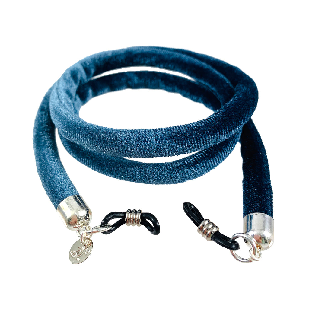 Cuerda Velvet Denim Blue