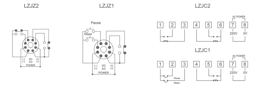 Connection Diagram-Time Relay