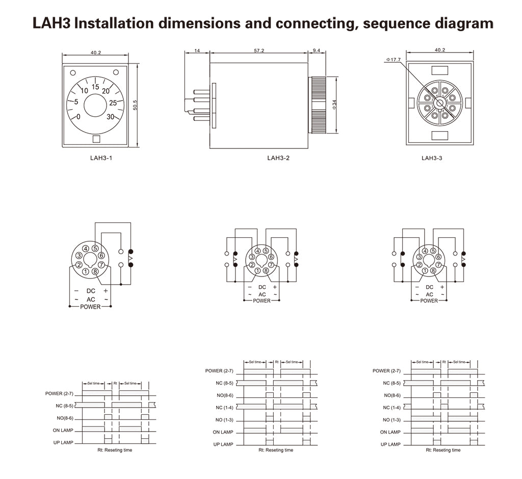 LAH3_Installation_Dimensions_and_Connection_Diagram