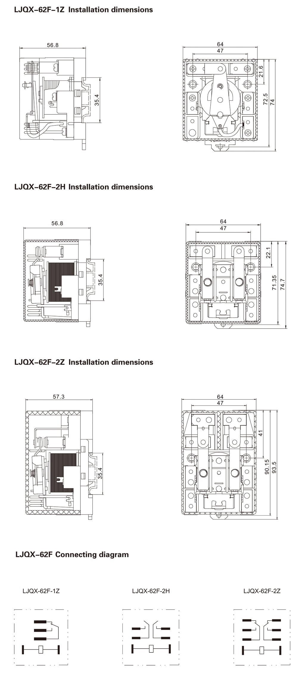LJQX-62F_Installation_Dimensions_and_Connection_Diagram