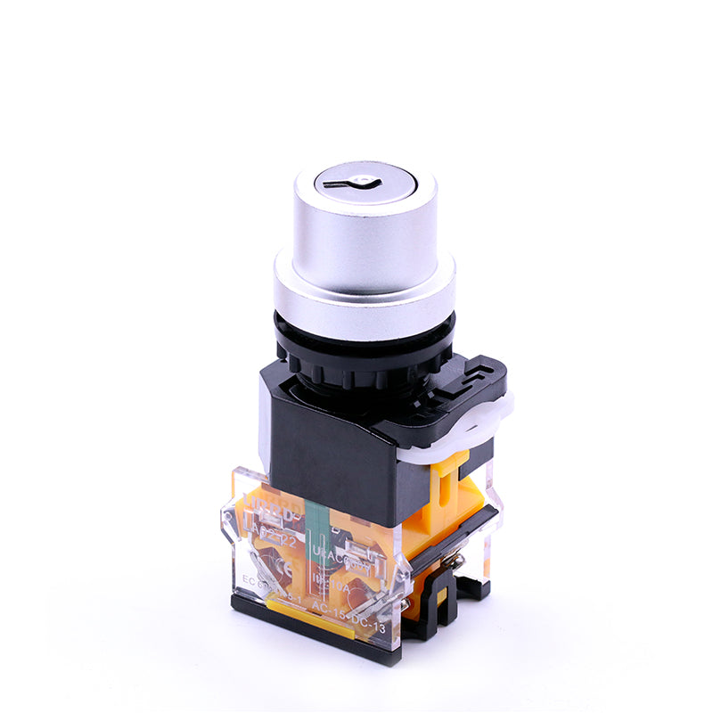 22mm Maintained Key Selector Switch 2 Position