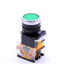 Load image into Gallery viewer, 22mm Momentary Dustproof Push Button Switch
