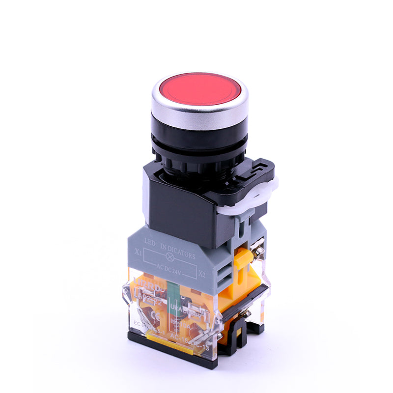 22mm Momentary Illuminated Push Button Switch