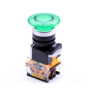 Mushroom NO NC Push Button Switch