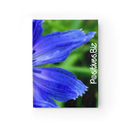 Positives.Biz ~ Lovely Chicory ~ Journal - Blank