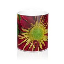 Load image into Gallery viewer, Positives.Biz ~ Fall Into Positives ~ Floral Mug ~ 11oz