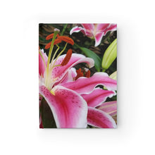 Load image into Gallery viewer, Positives.Biz ~ Ravishing Lily ~ Journal - Ruled Line