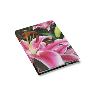 Positives.Biz ~ Ravishing Lily ~ Journal - Ruled Line