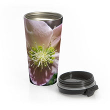 Load image into Gallery viewer, Positives.Biz ~ Exotic Hellobore ~ Stainless Steel Travel Mug