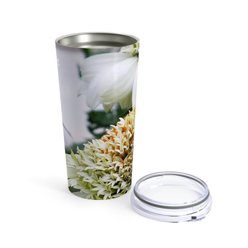 Positives.Biz ~ Calming Cone Flower ~ Tumbler ~ 20oz