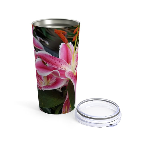 Positives.Biz ~ Ravishing Lily ~ Tumbler ~ 20oz