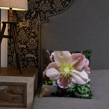 Load image into Gallery viewer, Positives.Biz ~ Exotic Hellebore ~ Square Pillow