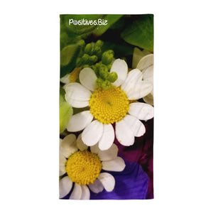 Positives.Biz ~ Wild Chamomile ~ Towel