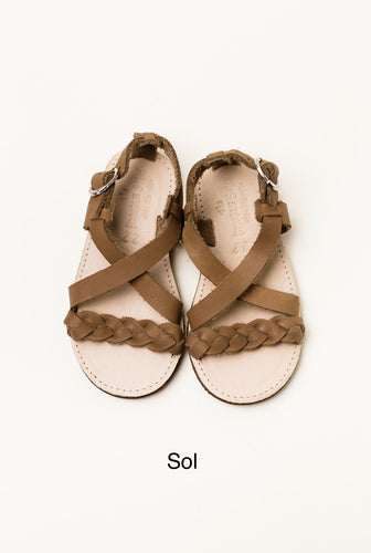 Sol Sandal- Brown