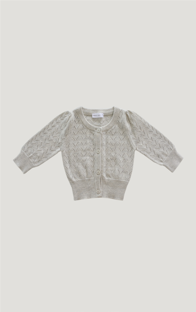 Ellie Cardigan- Oatmeal