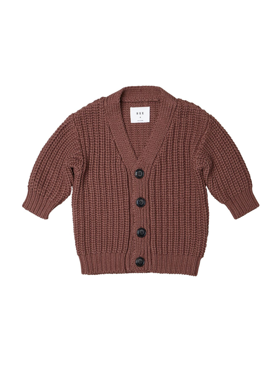 Nutmeg Chunky Button Cardigan