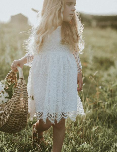 Lacey Bohemian Lace Dress