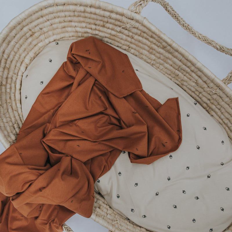 Toffee Organic Wrap/Blanket