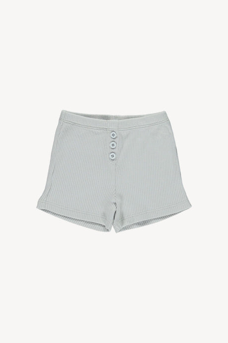 Cozy Shorts-Cloud